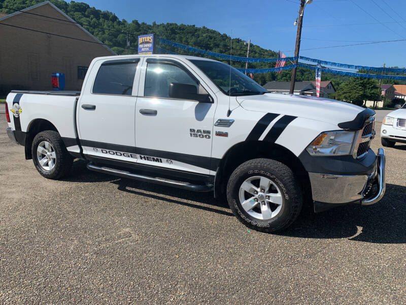 2014 RAM Ram Pickup 1500 for sale at MYERS PRE OWNED AUTOS & POWERSPORTS in Paden City WV