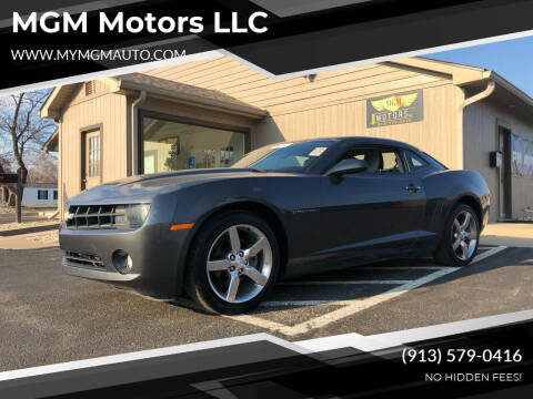 2010 Chevrolet Camaro for sale at MGM Motors LLC in De Soto KS