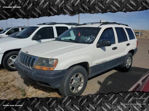 2000 Jeep Grand Cherokee for sale at PYRAMID MOTORS - Pueblo Lot in Pueblo CO
