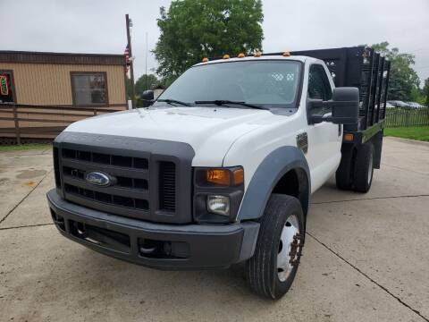 2010 Ford F-550 Super Duty for sale at Kachar's Used Cars Inc in Monroe MI
