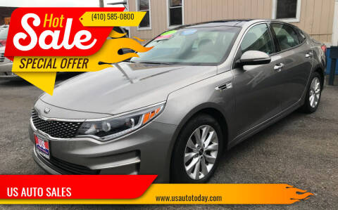 2016 Kia Optima for sale at US AUTO SALES in Baltimore MD