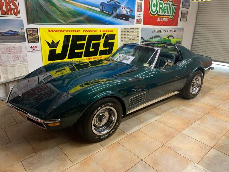 1971 Chevrolet Corvette for sale at A & A Classic Cars in Pinellas Park FL
