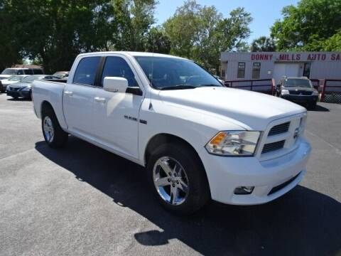 2010 Dodge Ram Pickup 1500 for sale at DONNY MILLS AUTO SALES in Largo FL