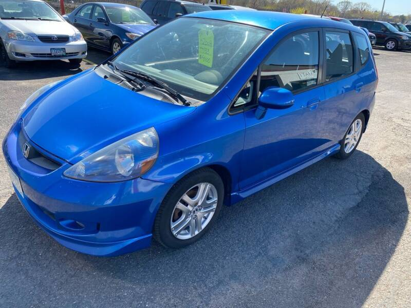2008 Honda Fit for sale at Auto Tech Car Sales in Saint Paul MN