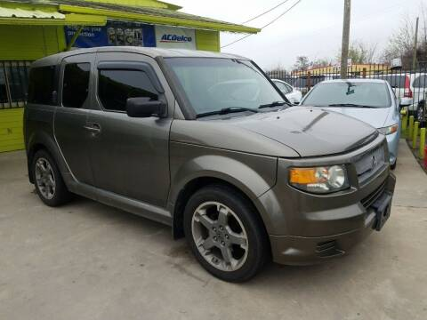 2008 Honda Element for sale at RODRIGUEZ MOTORS CO. in Houston TX