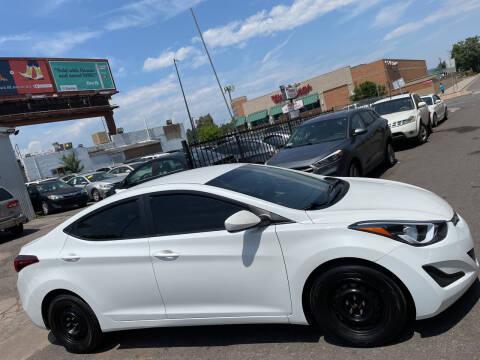 2016 Hyundai Elantra for sale at Sanaa Auto Sales LLC in Denver CO