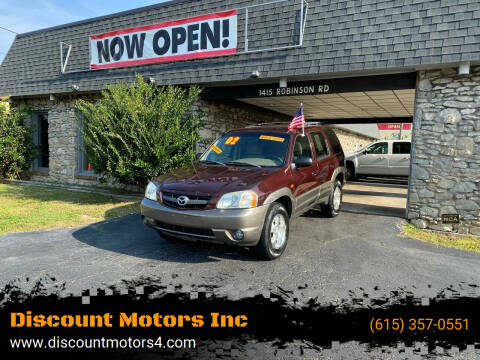 2002 Mazda Tribute for sale at Discount Motors Inc in Old Hickory TN