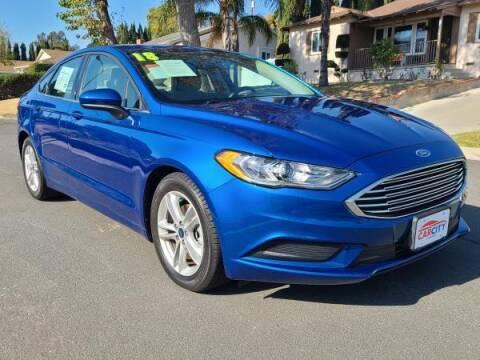 2018 Ford Fusion for sale at CAR CITY SALES in La Crescenta CA