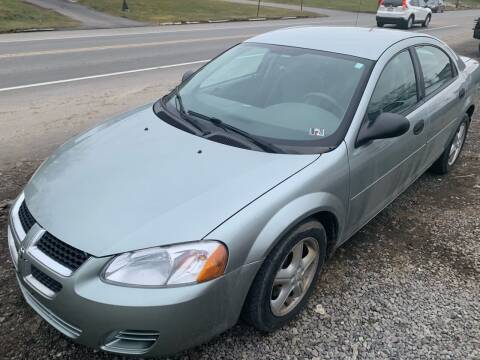 2004 Dodge Stratus for sale at Trocci's Auto Sales in West Pittsburg PA