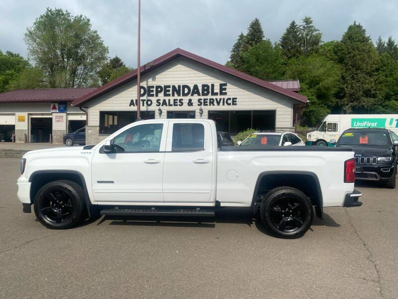 2017 GMC Sierra 1500 for sale at Dependable Auto Sales and Service in Binghamton NY