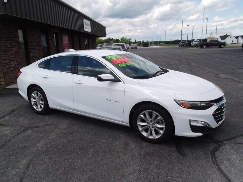 2020 Chevrolet Malibu for sale at Dietsch Sales & Svc Inc in Edgerton OH
