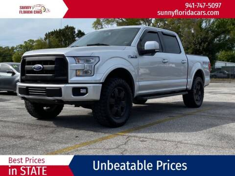 2015 Ford F-150 for sale at Sunny Florida Cars in Bradenton FL