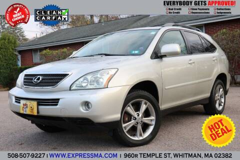 2006 Lexus RX 400h for sale at Auto Sales Express in Whitman MA