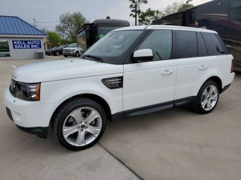 2012 Land Rover Range Rover Sport for sale at Kell Auto Sales, Inc in Wichita Falls TX
