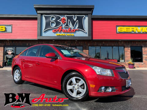 2011 Chevrolet Cruze for sale at B & M Auto Sales Inc. in Oak Forest IL