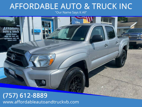 2015 Toyota Tacoma for sale at AFFORDABLE AUTO & TRUCK INC in Virginia Beach VA