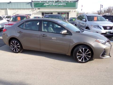 2017 Toyota Corolla for sale at Jim O'Connor Select Auto in Oconomowoc WI