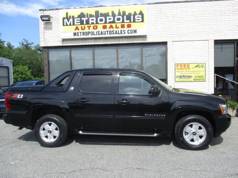 2013 Chevrolet Avalanche for sale at Metropolis Auto Sales in Pelham NH
