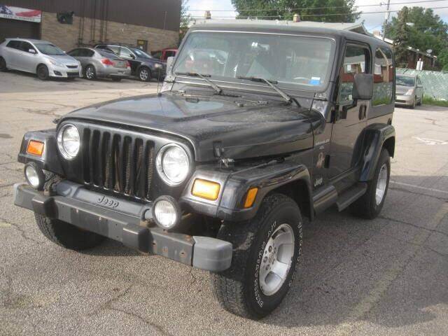 2000 Jeep Wrangler for sale at ELITE AUTOMOTIVE in Euclid OH