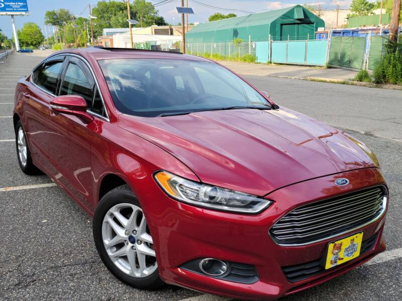2014 Ford Fusion for sale at Giordano Auto Sales in Hasbrouck Heights NJ