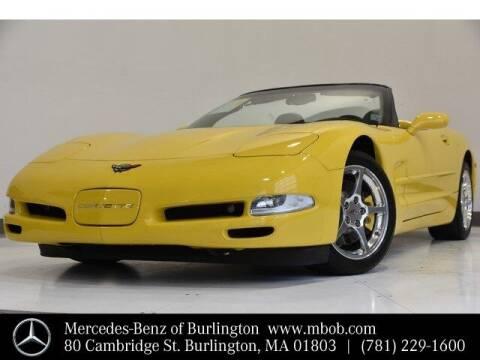 2000 Chevrolet Corvette for sale at Mercedes Benz of Burlington in Burlington MA