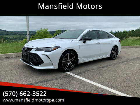 2019 Toyota Avalon for sale at Mansfield Motors in Mansfield PA