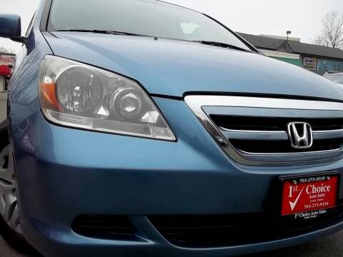 2007 Honda Odyssey for sale at 1st Choice Auto Sales in Fairfax VA