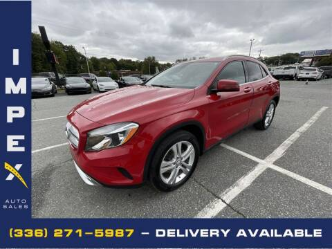 2016 Mercedes-Benz GLA for sale at Impex Auto Sales in Greensboro NC