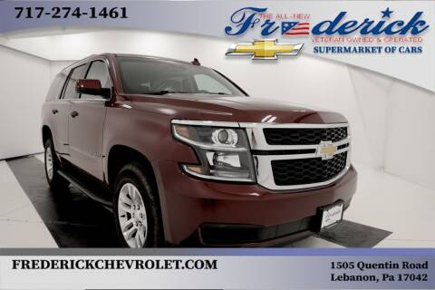 2018 Chevrolet Tahoe for sale at Lancaster Pre-Owned in Lancaster PA