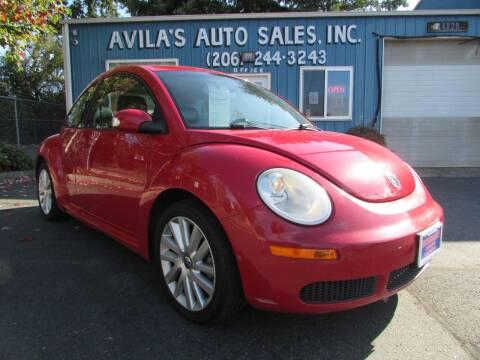 2008 Volkswagen New Beetle for sale at Avilas Auto Sales Inc in Burien WA