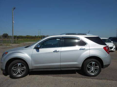 2017 Chevrolet Equinox for sale at Salmon Automotive Inc. in Tracy MN