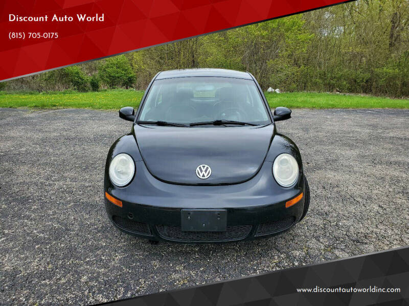 2008 Volkswagen New Beetle for sale at Discount Auto World in Morris IL