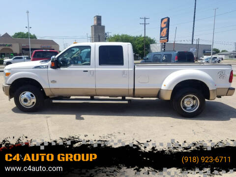 2012 Ford F-350 Super Duty for sale at C4 AUTO GROUP in Claremore OK