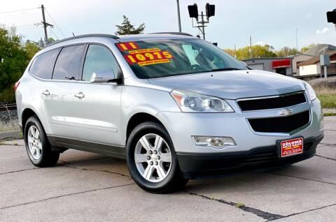 2011 Chevrolet Traverse for sale at SOLOMA AUTO SALES in Grand Island NE