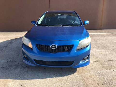 2010 Toyota Corolla for sale at ALL STAR MOTORS INC in Houston TX