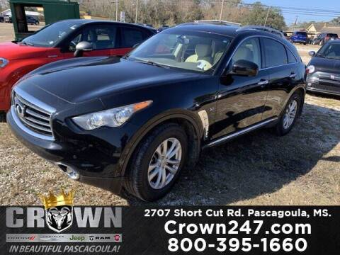 2015 Infiniti QX70 for sale at CROWN  DODGE CHRYSLER JEEP RAM FIAT in Pascagoula MS