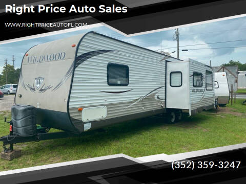 2013 Forest River Wildwood for sale at Right Price Auto Sales in Waldo FL