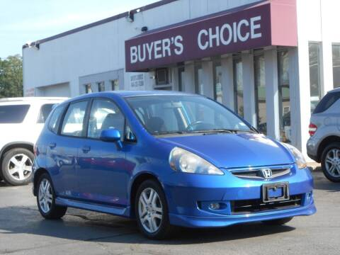 2008 Honda Fit for sale at Buyers Choice Auto Sales in Bedford OH