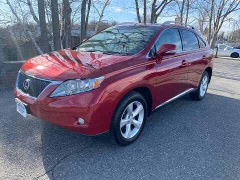 2010 Lexus RX 350 for sale at ANDONI AUTO SALES in Worcester MA