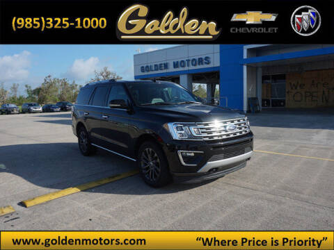 2020 Ford Expedition for sale at GOLDEN MOTORS in Cut Off LA