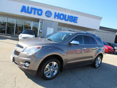 2012 Chevrolet Equinox for sale at Auto House Motors in Downers Grove IL