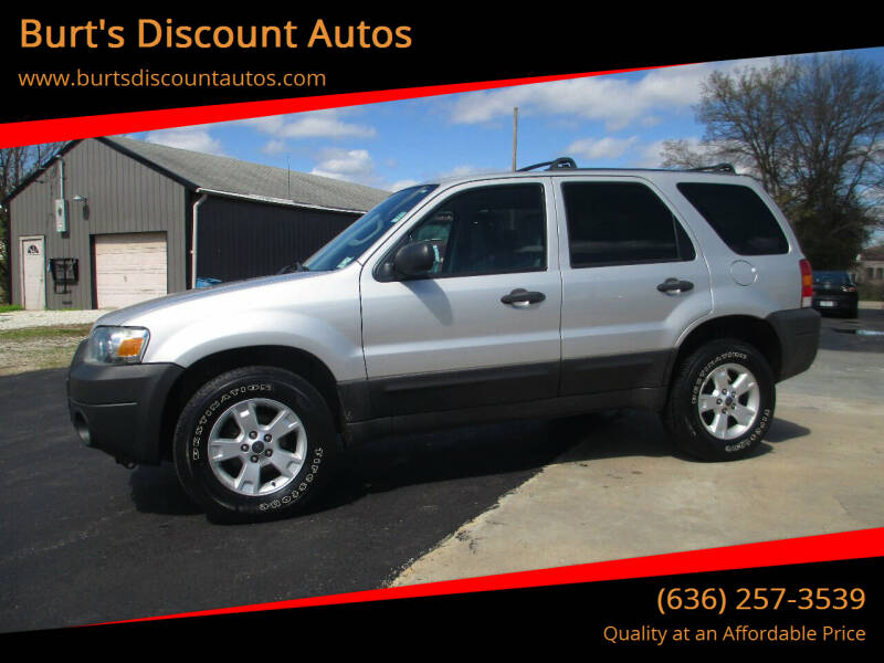 2007 Ford Escape for sale at Burt's Discount Autos in Pacific MO
