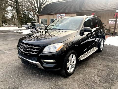 2013 Mercedes-Benz M-Class for sale at Suburban Wrench in Pennington NJ