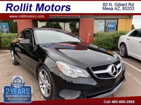 2014 Mercedes-Benz E-Class for sale at Rollit Motors in Mesa AZ