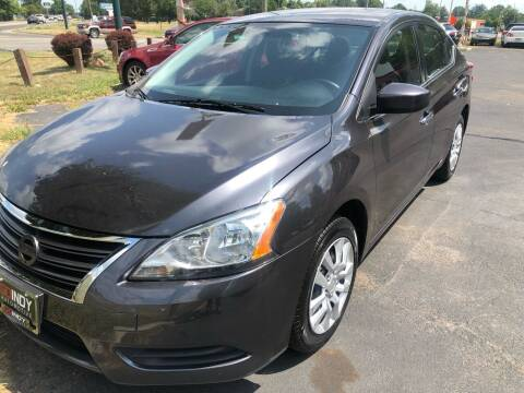 2015 Nissan Sentra for sale at Right Place Auto Sales in Indianapolis IN