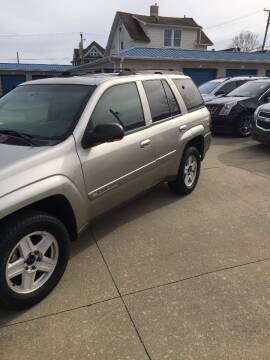 2002 Chevrolet TrailBlazer for sale at New Rides in Portsmouth OH