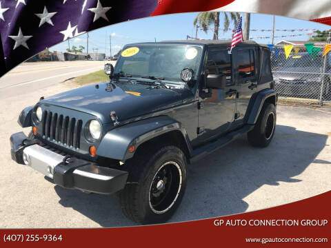 2008 Jeep Wrangler Unlimited for sale at GP Auto Connection Group in Haines City FL