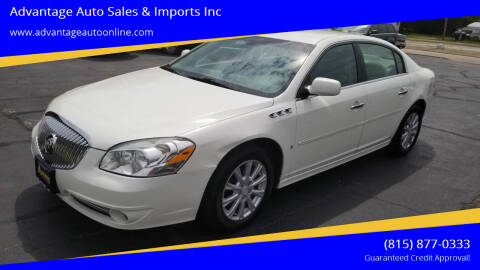 2010 Buick Lucerne for sale at Advantage Auto Sales & Imports Inc in Loves Park IL