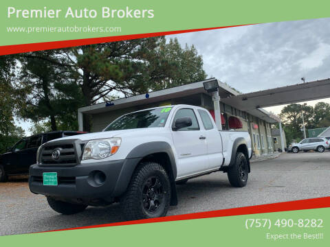 2010 Toyota Tacoma for sale at Premier Auto Brokers in Virginia Beach VA