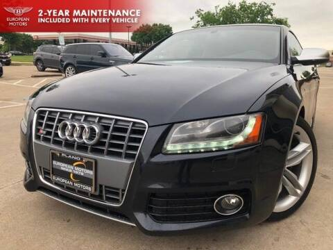 2012 Audi S5 for sale at European Motors Inc in Plano TX